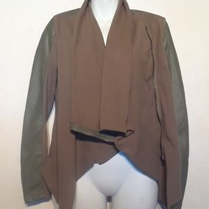 Blank NYC private practice faux leather jacket
